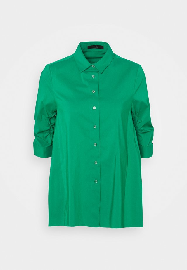 BENITA FASHIONABLE BLOUSE - Button-down blouse - funky green