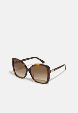 BECKY - Sluneční brýle - dark havana
