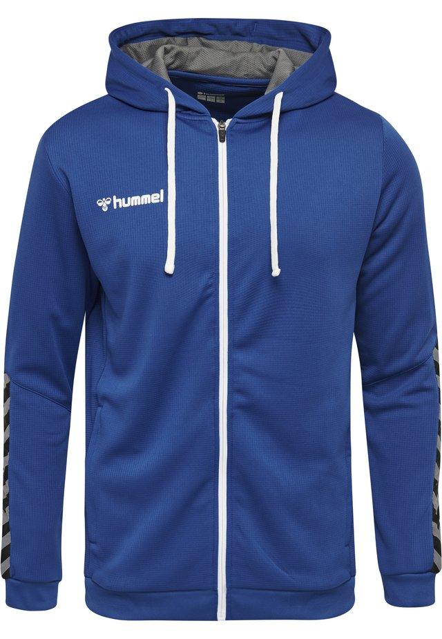 AUTHENTIC - Zip-up hoodie - true blue