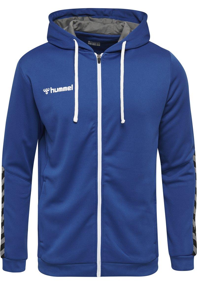 Hummel - AUTHENTIC - Huvtröja med dragkedja - true blue