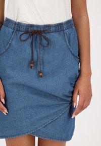 alife & kickin - LUCYAK  - Wrap skirt - denim - 4