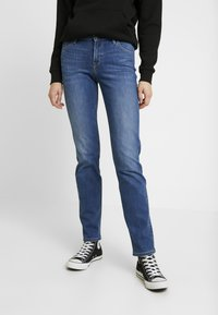 Lee - MARION STRAIGHT - Jeansy Straight Leg - stone blue denim - 0