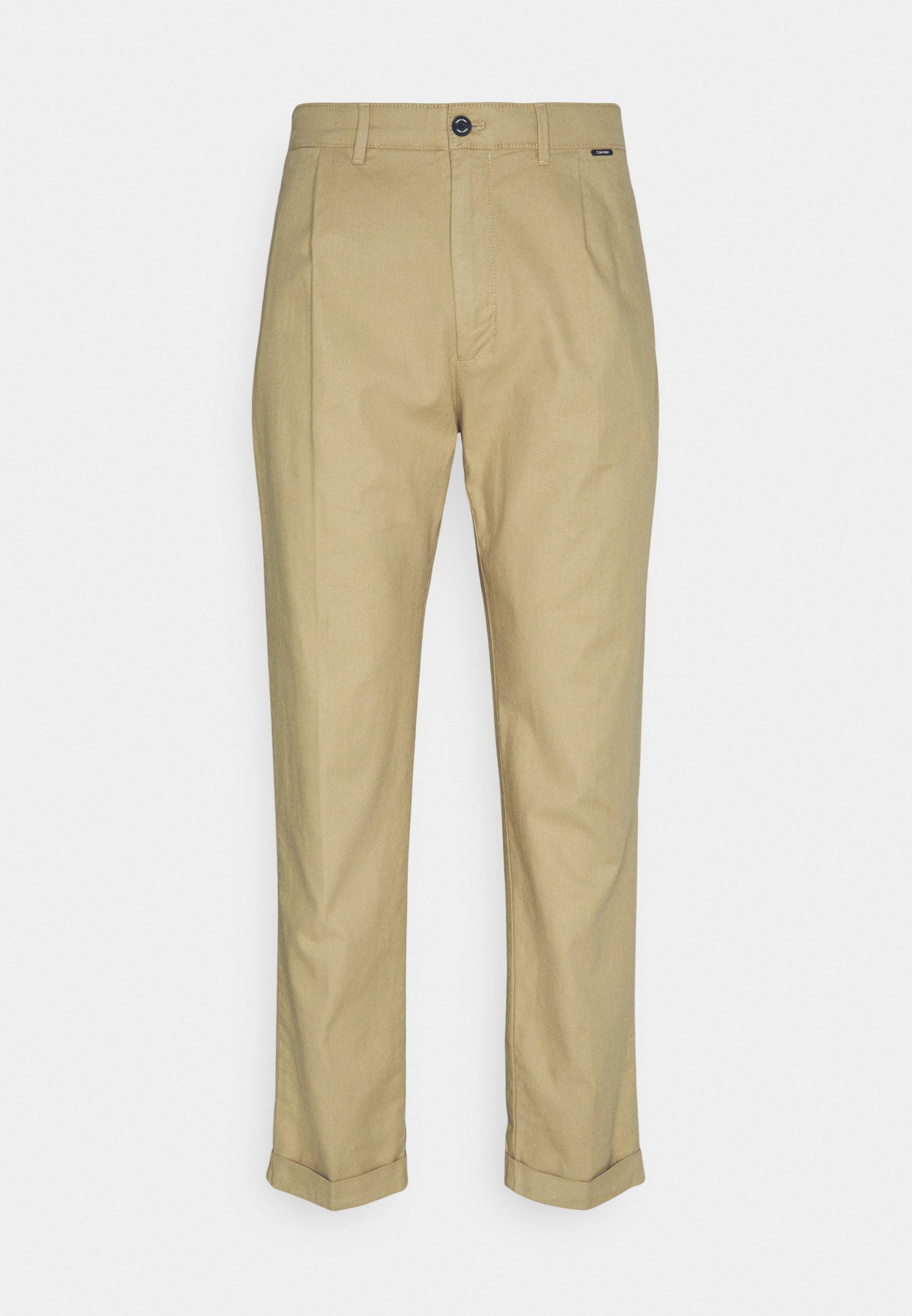 Homme TAPERED PLEAT - Pantalon classique