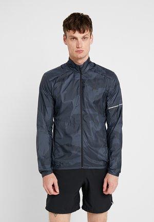 AGILE WIND  - Běžecká bunda - ebony black