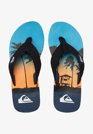 MOLOKAI LAYBACK - Pool shoes - black/blue/blue