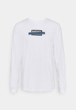 T-JUST-LS-X41 T-SHIRT UNISEX - Print T-shirt - bright white