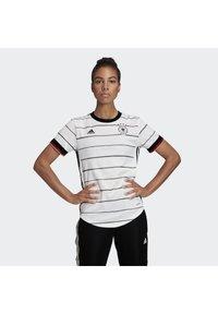 adidas Performance - DEUTSCHLAND DFB HEIMTRIKOT - Club wear - white - 0