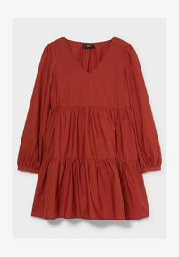 C&A - Day dress - brown - 3