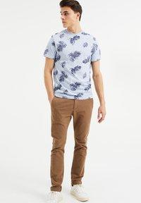 WE Fashion - Print T-shirt - blue - 1
