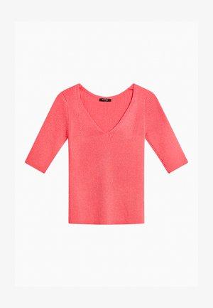 Basic T-shirt - calypso rot