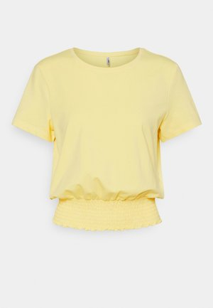 ONLDREA LIFE SMOCK  - T-shirt con stampa - sunshine