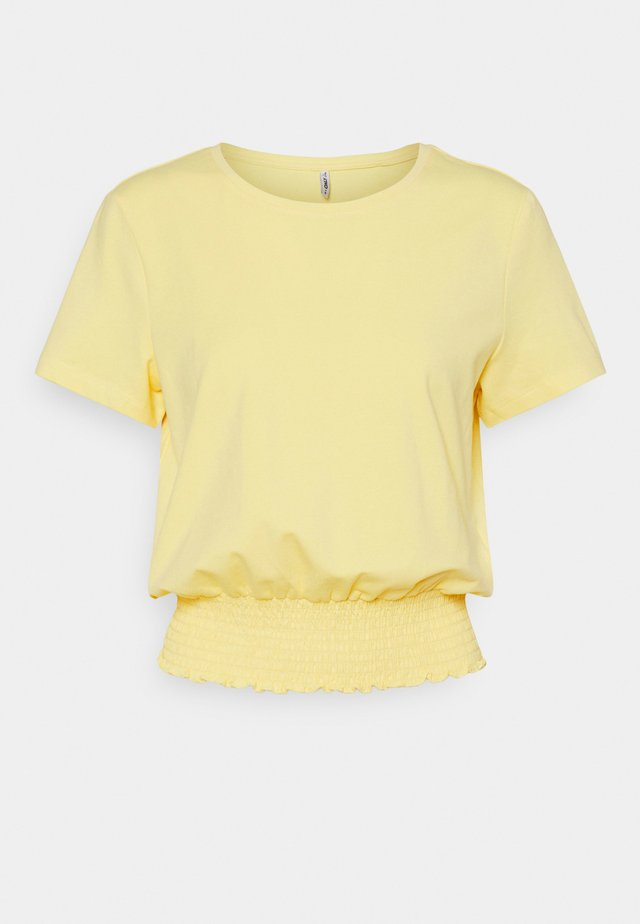 ONLDREA LIFE SMOCK  - Camiseta estampada - sunshine