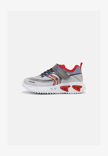 ASSISTER BOY - Trainers - grey/red