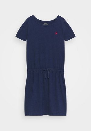 TIE  - Jersey dress - newport navy