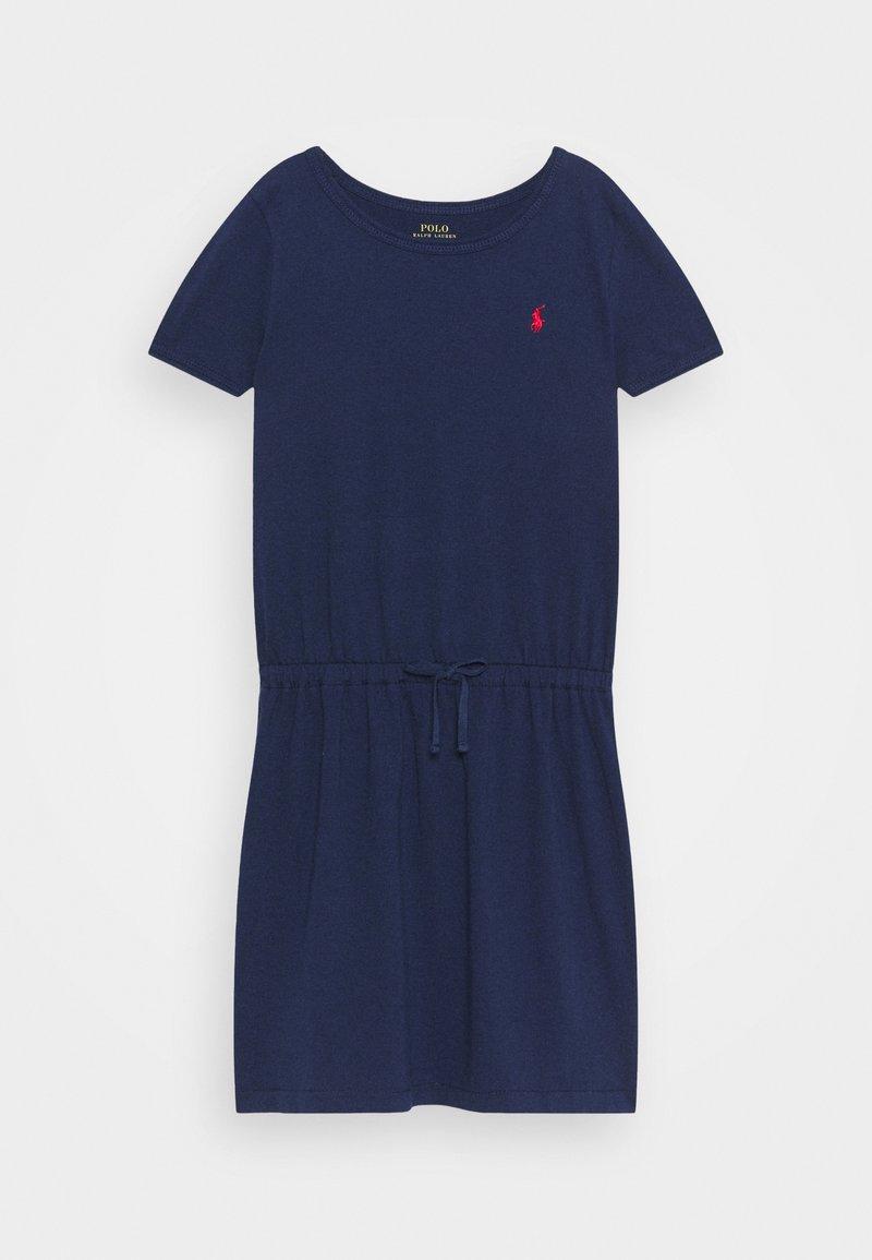 Polo Ralph Lauren - TIE  - Jersey dress - newport navy