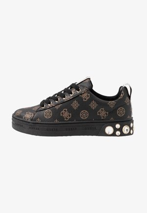 RIVET - Sneakers basse - brown/ocra