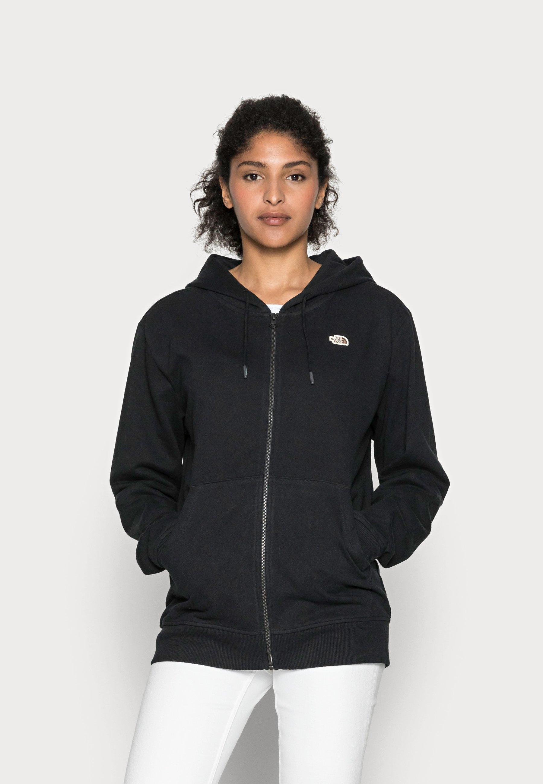 Women RECYCLED SCRAP GRAPHIC HOODIE - Zip-up sweatshirt