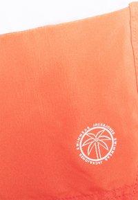 Jack & Jones - JJIBALI JJSWIM COLORBLOCK - Swimming shorts - hot coral - 4