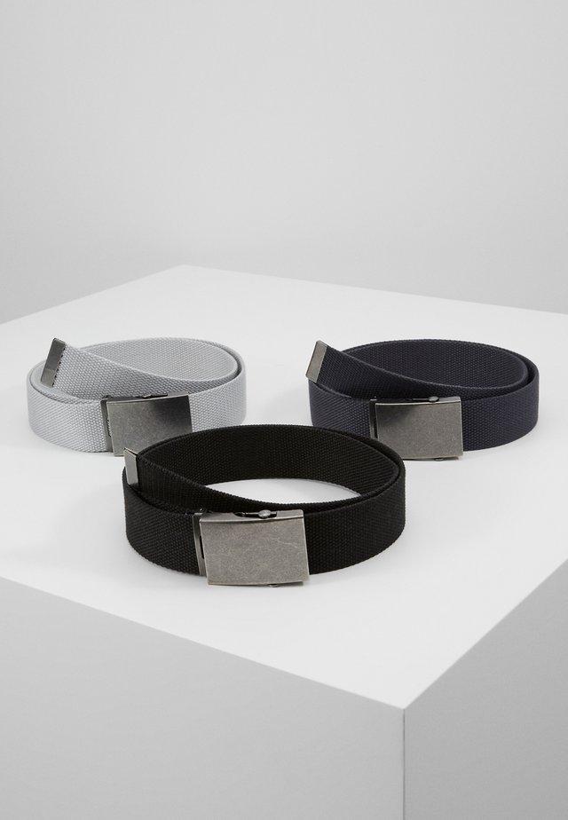 UNISEX - Belte - black/dark blue/grey
