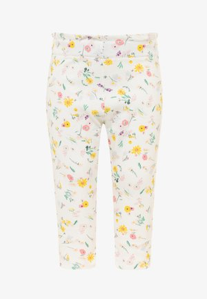 Trousers - marshmallow/multicolor