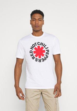 ONSRHCP LIFE TEE - Print T-shirt - white