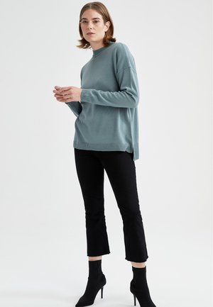 REGULAR FIT  - Pullover - turquoise