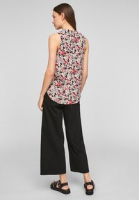 QS by s.Oliver - Blouse - apricot aop - 2