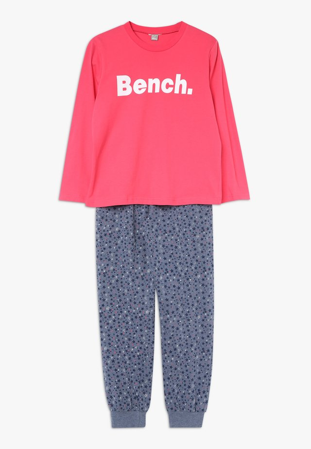 Pyjama set - coral/dark blue