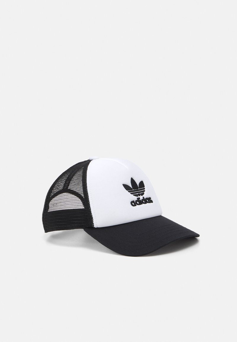 adidas Originals - TRUCKER - Caps - black/white
