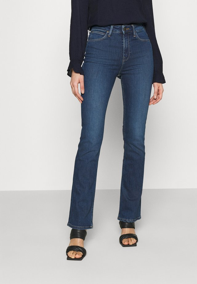 BREESE BOOT - Jeans bootcut - dark bristol