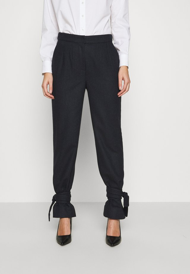 EDEN TROUSERS - Broek - navy