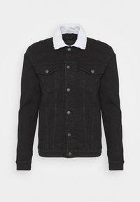 CARMON - Veste en jean - black