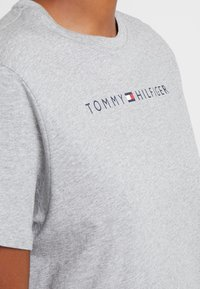 Tommy Hilfiger - ORIGINAL DRESS HALF SLEEVE - Nightie - grey heather - 5