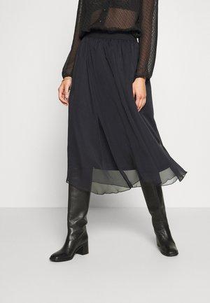 CORAL SKIRT - Áčková sukně - black