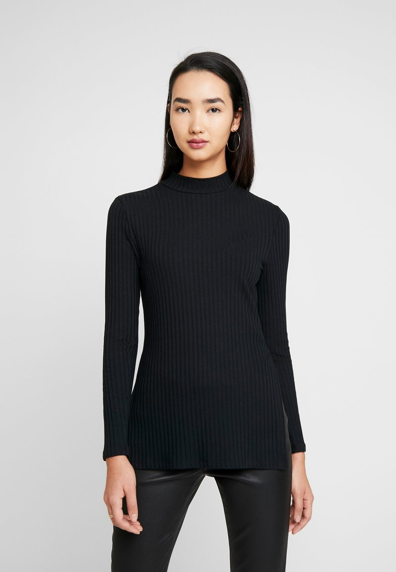 Zign - LANGARMSHIRT BASIC - Långärmad tröja - black