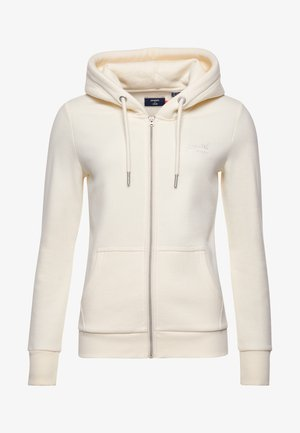 Zip-up hoodie - rodeo white