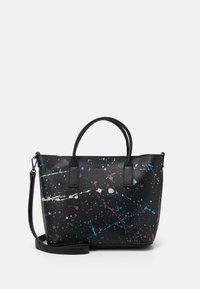 Desigual - BOLS SKY SPLATTING HOLBOX SET - Handbag - black - 0