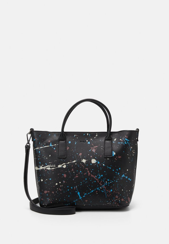 BOLS SKY SPLATTING HOLBOX SET - Borsa a mano - black