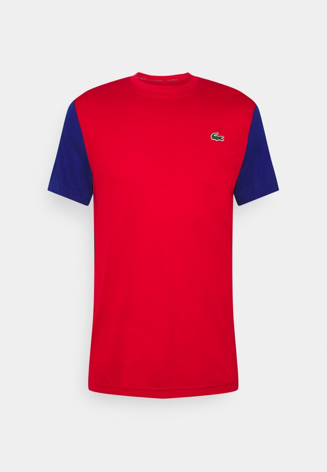 TENNIS  - Print T-shirt - red/cosmic