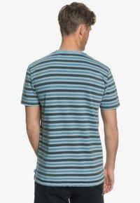 Quiksilver - CAPITOA - Print T-shirt - capitoa airy blue - 2