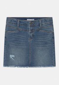 Name it - NKFSALLI  - Mini skirt - medium blue denim - 0