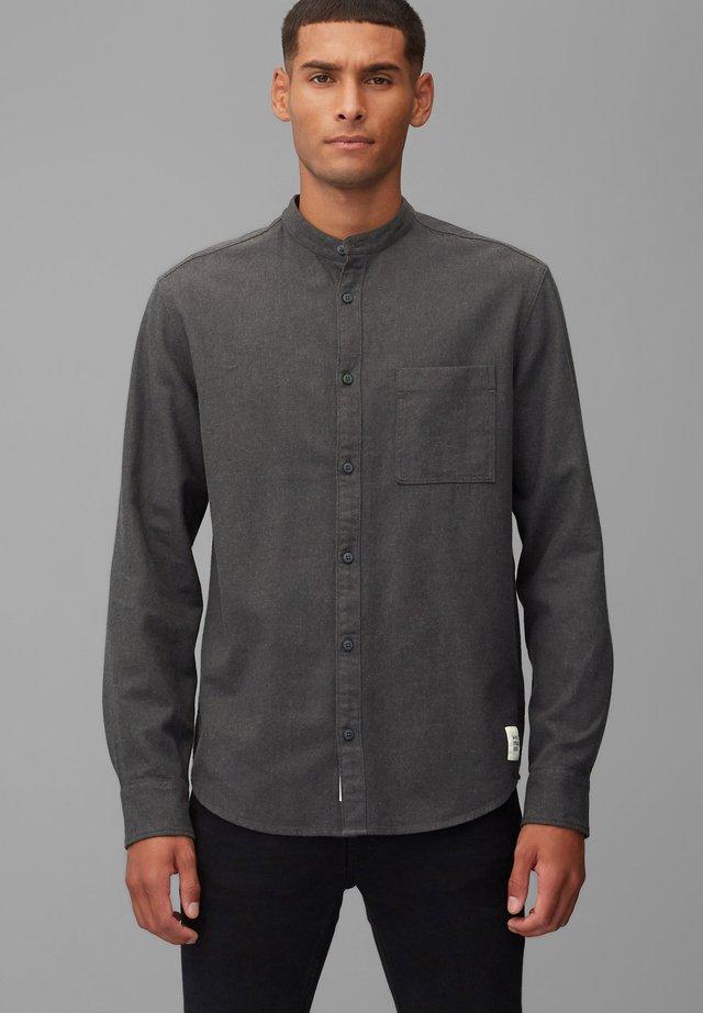 LONG SLEEVE - Koszula - dark grey melange