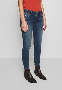 LTB - MOLLY - Slim fit jeans - dark blue denim - 0