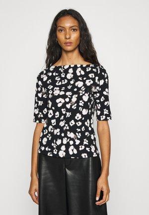 CEMOLA  - Print T-shirt - black