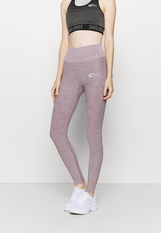 HIGH WAIST LEGGINGS YURA - Legging - lila