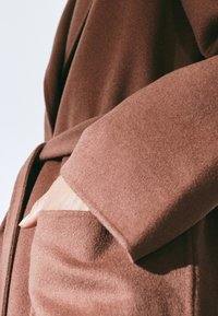 Massimo Dutti - Classic coat - light brown - 4