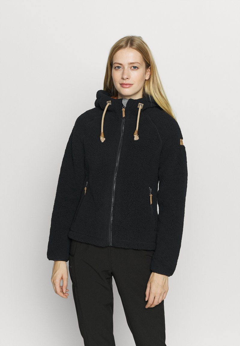 Icepeak - VIAREGGIO - Fleece jacket - black