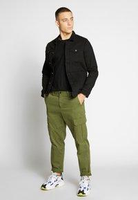 Denim Project - KASH JACKET - Denim jacket - black dot - 1