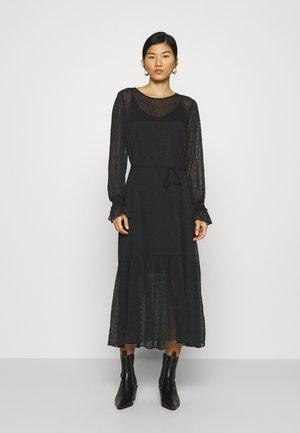 LULA MAXI DRESS - Vestito lungo - black