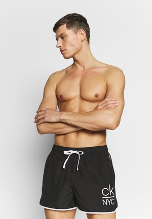 RUNNER - Shorts da mare - black